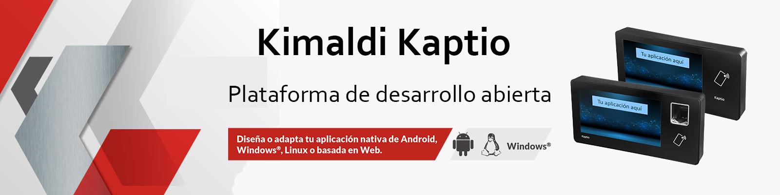 Kimaldi Kaptio - Plataforma de desarrollo abierta