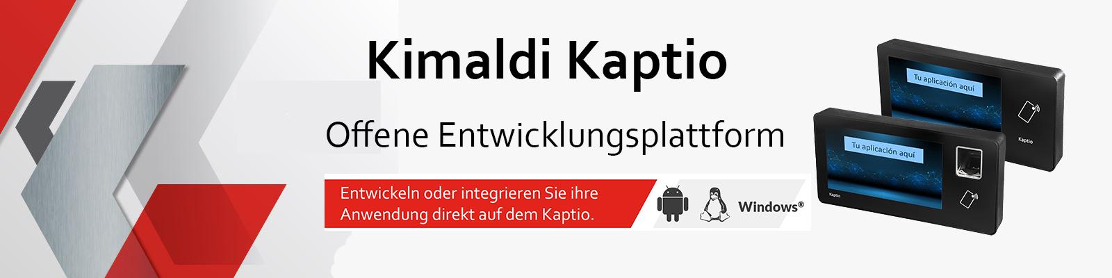Kimaldi Kaptio - Plataforma de desarrollo abierta_german