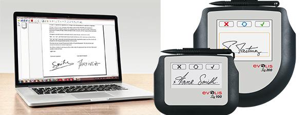 digitale Signatur mit elektronischem Tablet für Signatur-Fitnessstudio und Sportzentrum partner_kimaldi