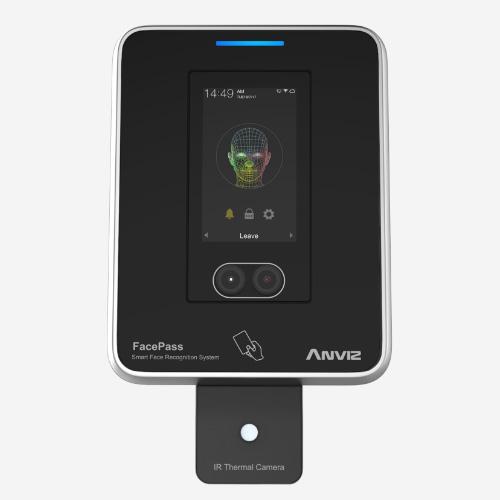 anviz facepass 7 irt control de acceso y cámara térmica