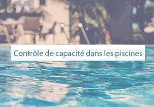 Contrôle de capacité dans les piscines