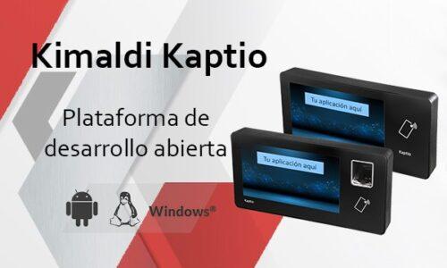 Kimaldi Kaptio - Plataforma de desarrollo abierta_ESP