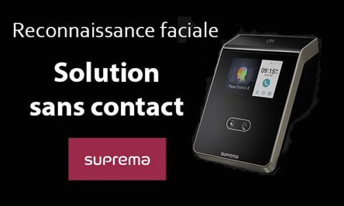 Suprema - Solution sans contact
