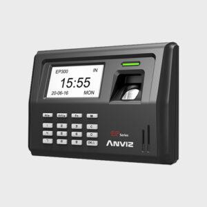 control de presencia por huella y tarjeta anviz ep300