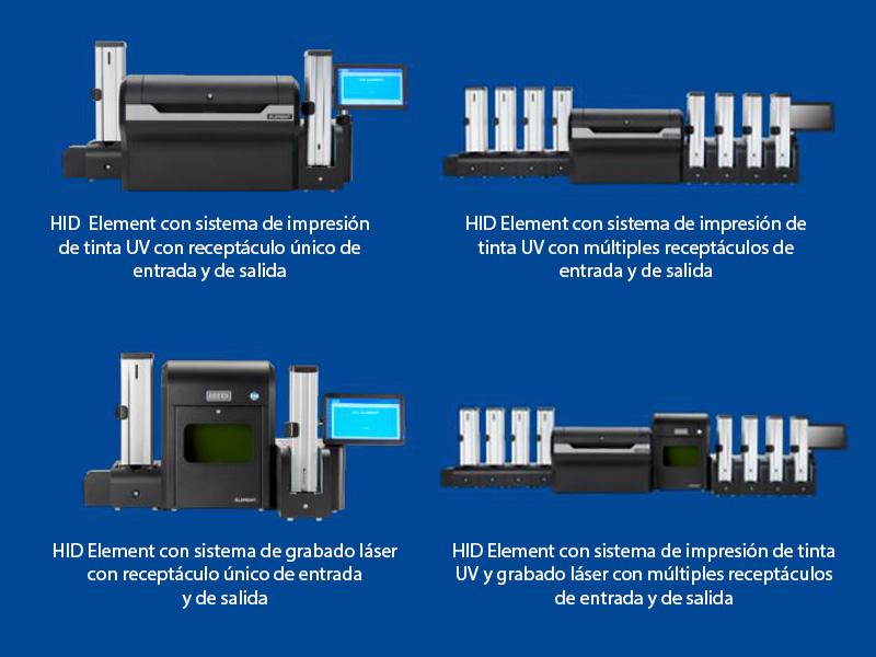 HID Element - Múltiples opciones de impresión