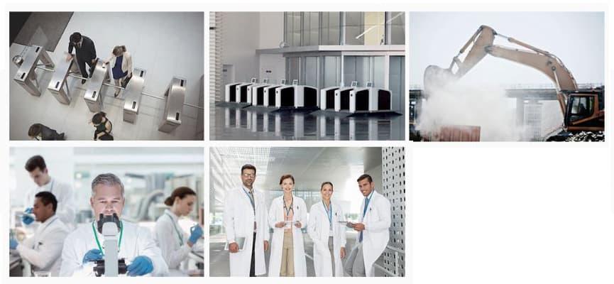 Nitgen UBio-x Iris aplicaciones