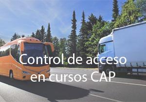 Control de acceso en cursos CAP
