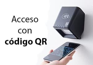 Control de acceso con código QR
