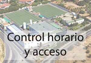 Control horario y acceso