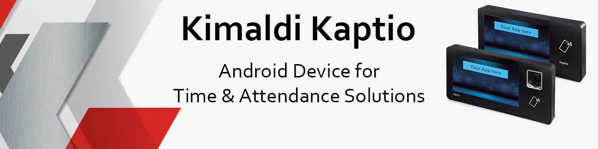 Kimaldi Kaptio - Android device for TA solution
