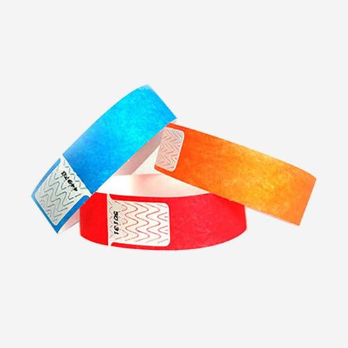 Pulseras desechables con chip RFID