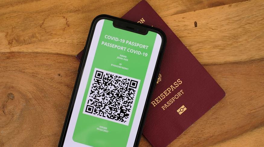 pasaporte verde codigo qr